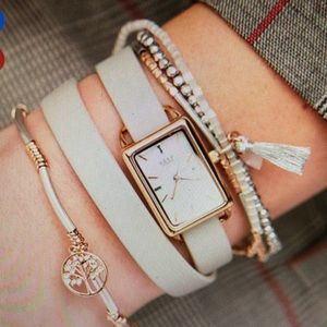 KEEP Collective Jewelry - New with packaging double wrap leather band